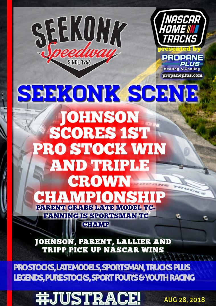 Seekonk Speedway Race Magazine Seekonk Speedway 8.12.18