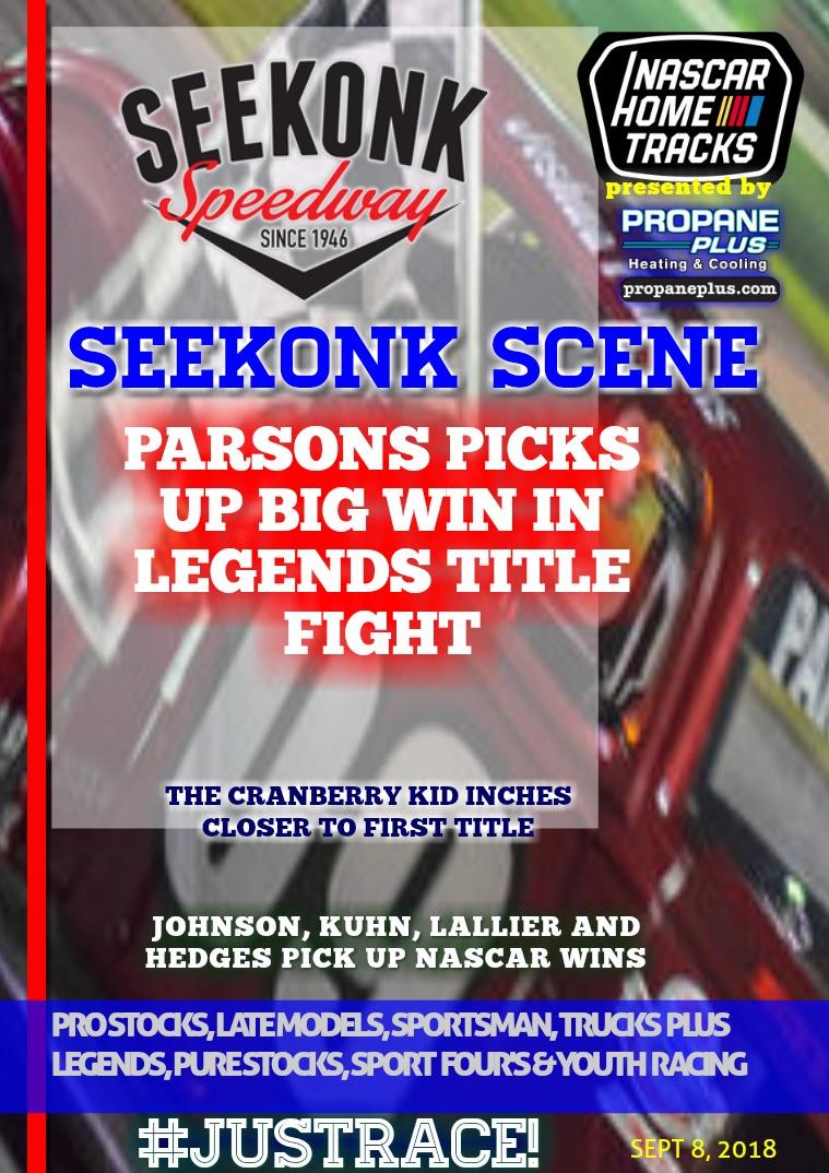 Seekonk Speedway Race Magazine Seekonk Speedway 9.8.18