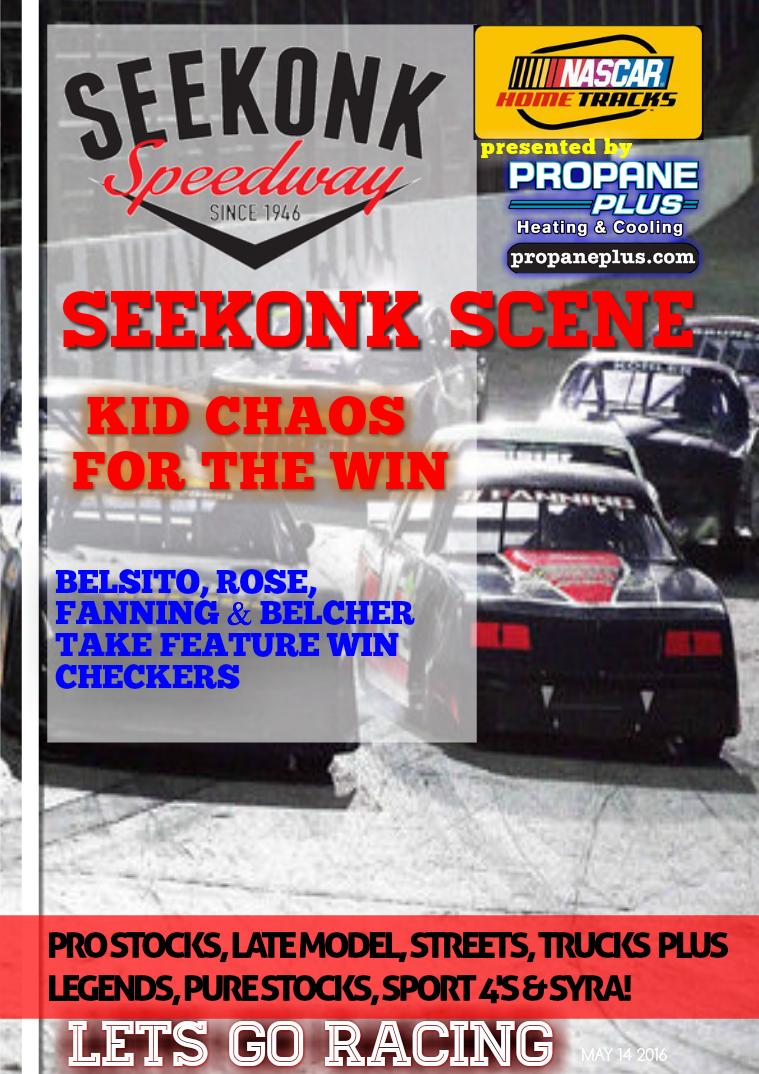 Seekonk Speedway Race Magazine May 14 Weekend Recap