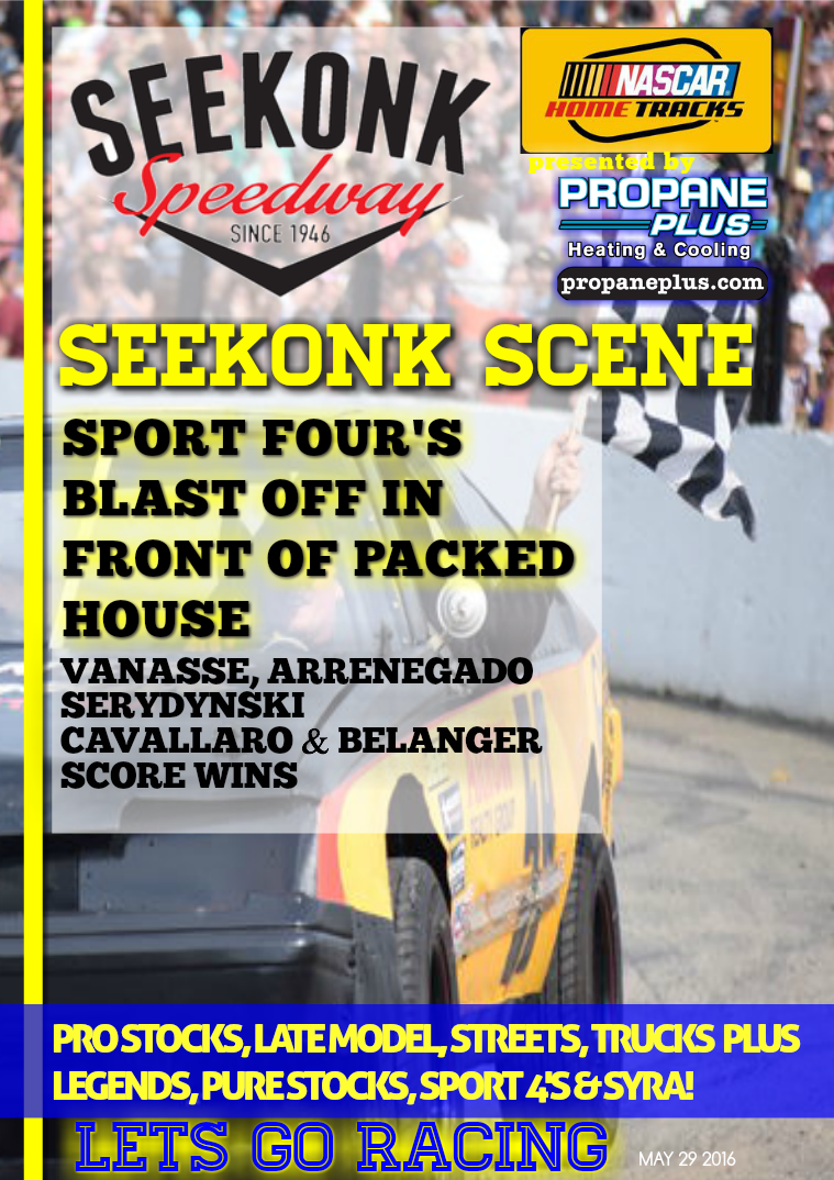 Seekonk Speedway Race Magazine May 28 Weekend Recap
