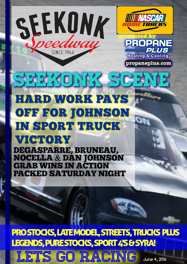 Seekonk Speedway Race Magazine June 3-4 Weekend Recap