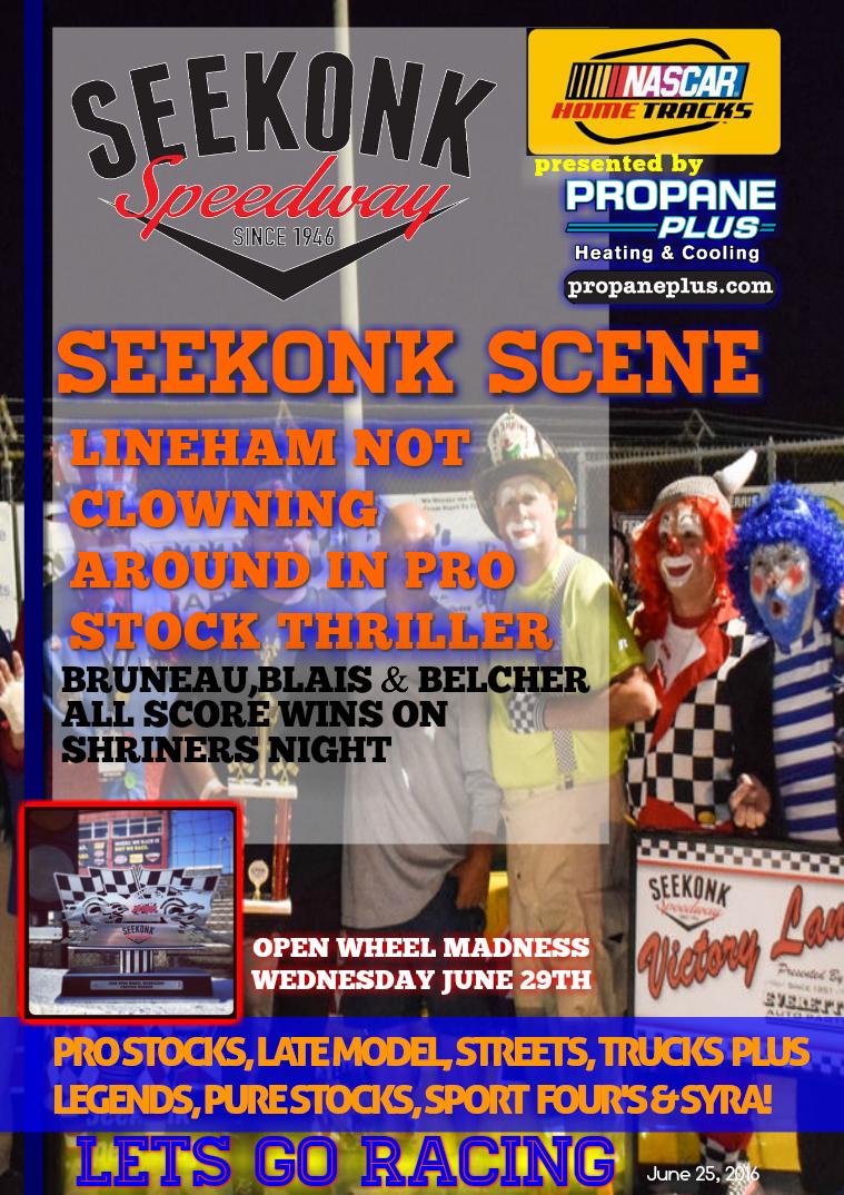 Seekonk Speedway Race Magazine June 24-25 Weekend Recap