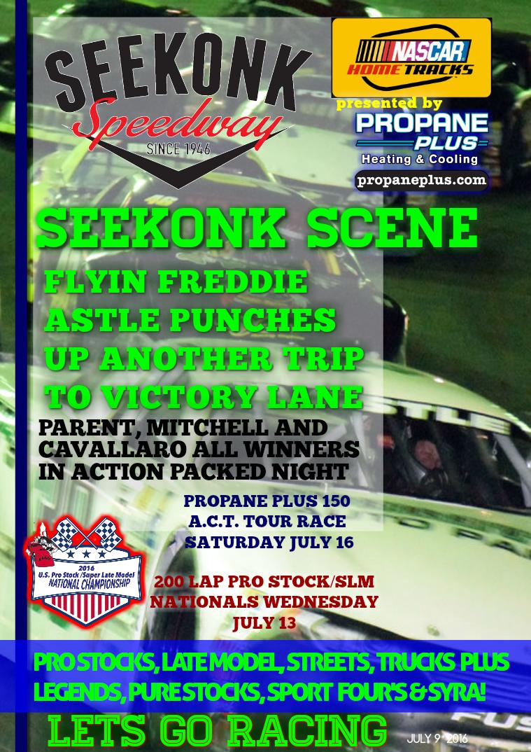 Seekonk Speedway Race Magazine July 8-9 Weekend Recap