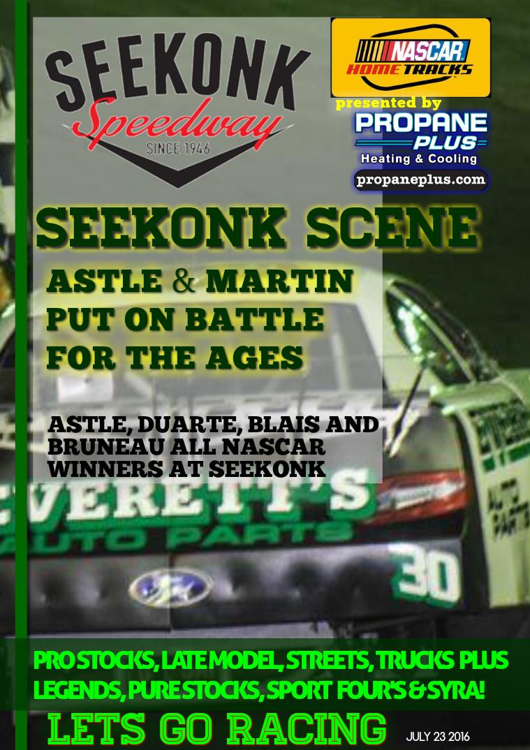 Seekonk Speedway Race Magazine July 22-23 Recap