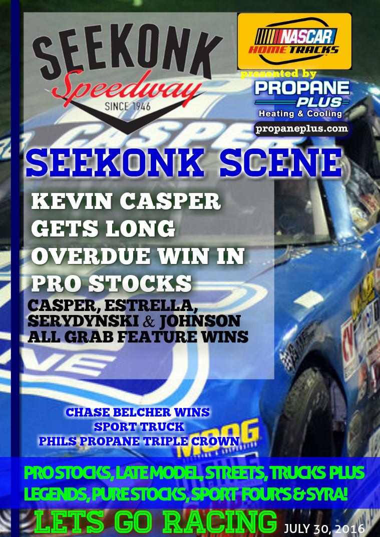 Seekonk Speedway Race Magazine July 29-30 Weekend Recap