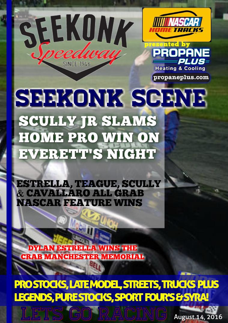 Seekonk Speedway Race Magazine August 12-13 Weekend Recap