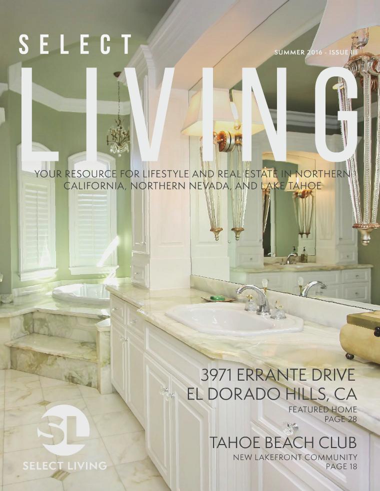 Select Living Magazine Issue III