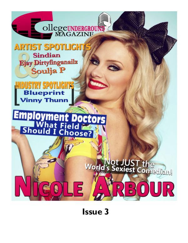 College Underground Magazine Issue 3