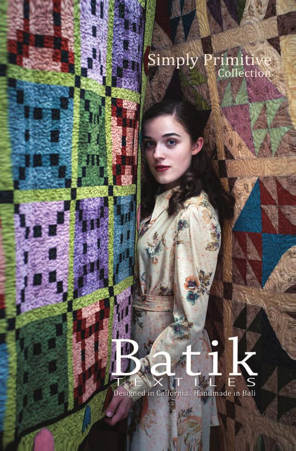 Batik Textiles Fall Fabric Collection and Quilts - Simply Primitive Collection