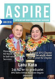 Aspire - LDS Business & Professionals' News NZ