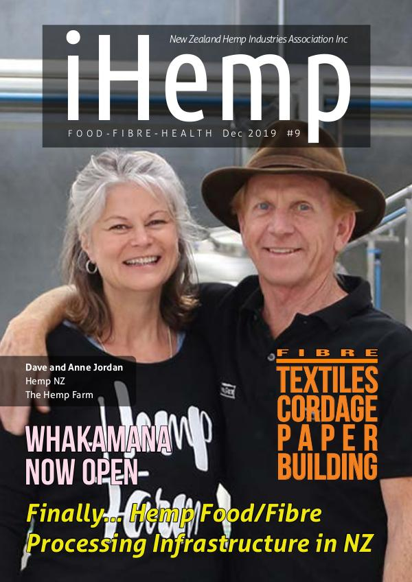 iHemp Magazine iHemp - Issue 9 - Dec 2019