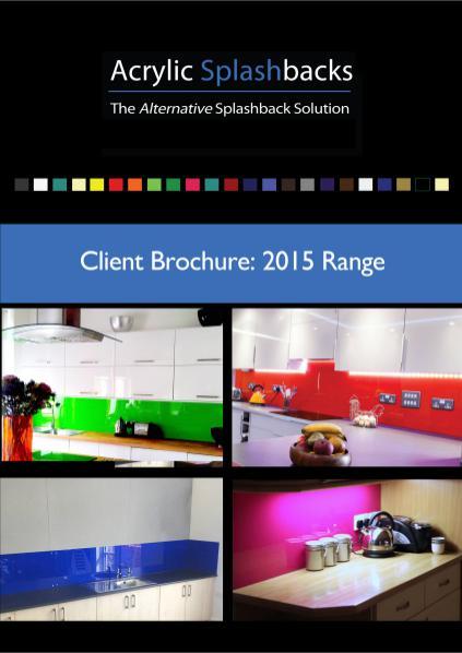 Acrylic Splashbacks Client Brochure 2015 2015
