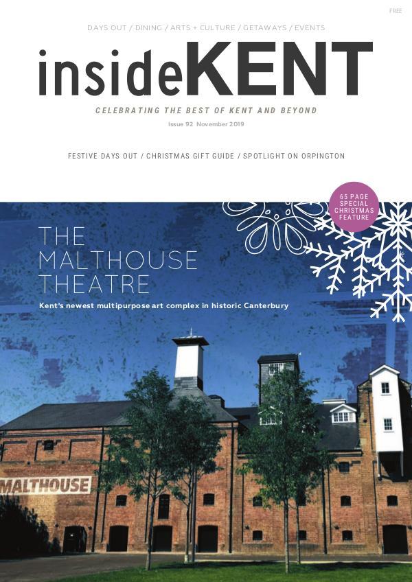 insideKENT Magazine November 2019