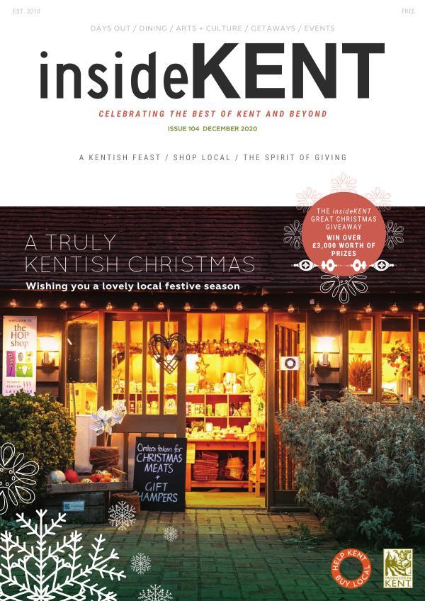 insideKENT Magazine Issue 104 - December 2020