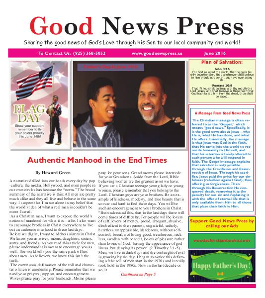 Good News Press June 2016 June 2016