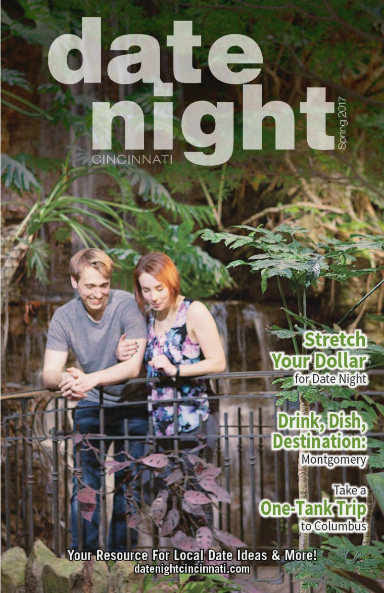 Date Night Cincinnati Magazine Spring 2017