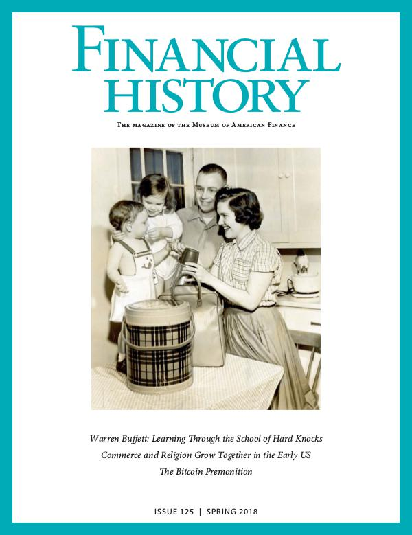 Financial History Issue 125 (Spring 2018)