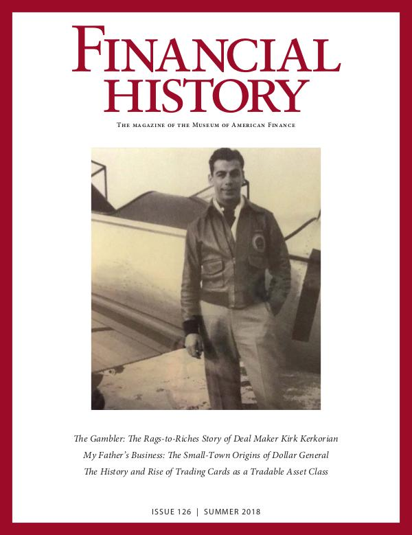 Financial History Issue 126 (Summer 2018)
