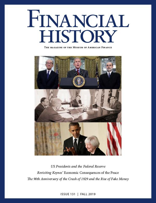 Financial History Issue 131 (Fall 2019)