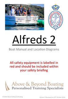 Alfreds I & II Operation Manuals