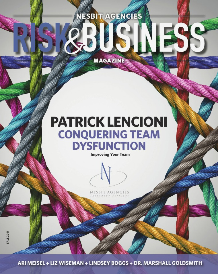 Nesbit Agencies Risk & Business Magazine Fall 2017