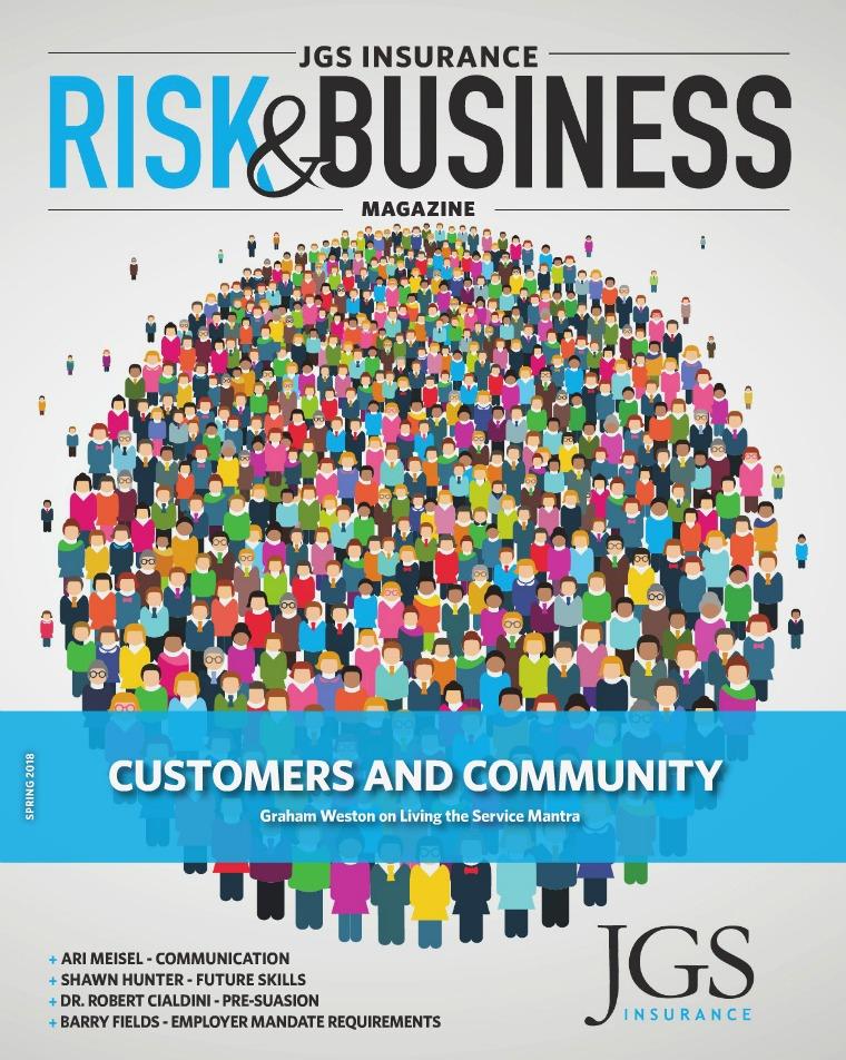 JGS Insurance Risk & Business Magazine Spring 2018
