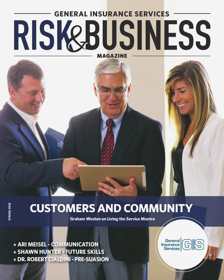 General Insurance Services Magazine Spring 2018