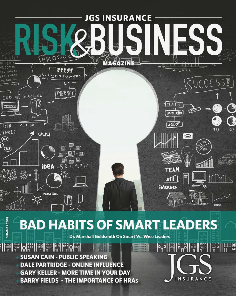 JGS Insurance Risk & Business Magazine Summer 2018