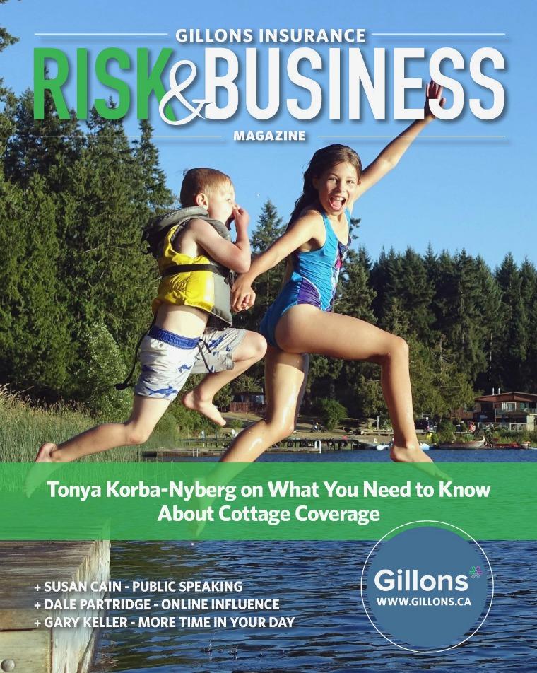Gillons Risk & Business Magazine Summer 2017