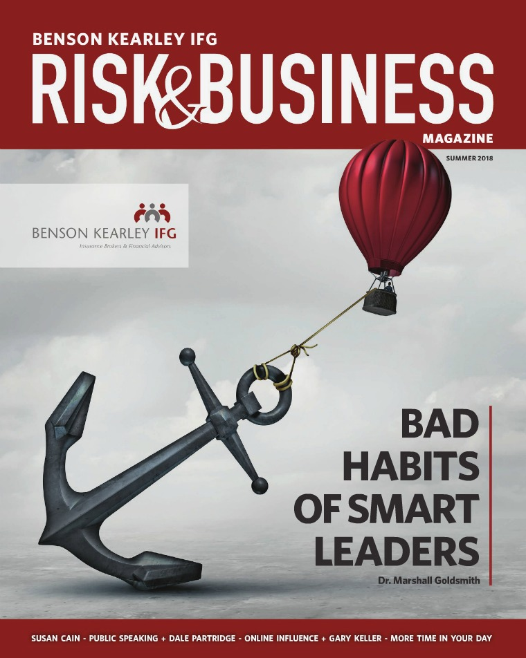 Benson Kearley Risk & Business Magazine Summer