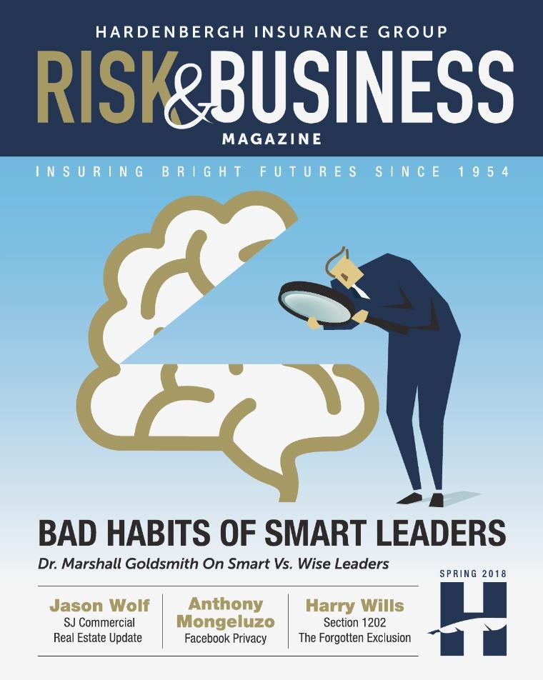 Risk & Business Magazine Hardenbergh Insurance Group Magazine Summer 2018