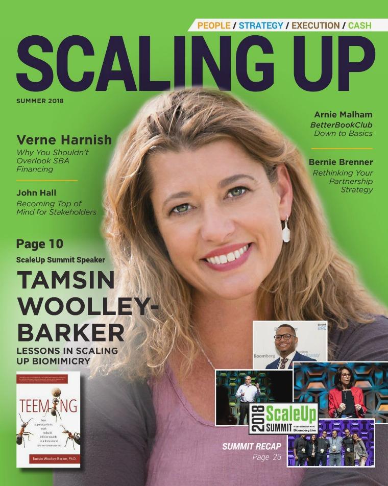 Scaling Up Magazine Scaling Up Magazine Summer 2018