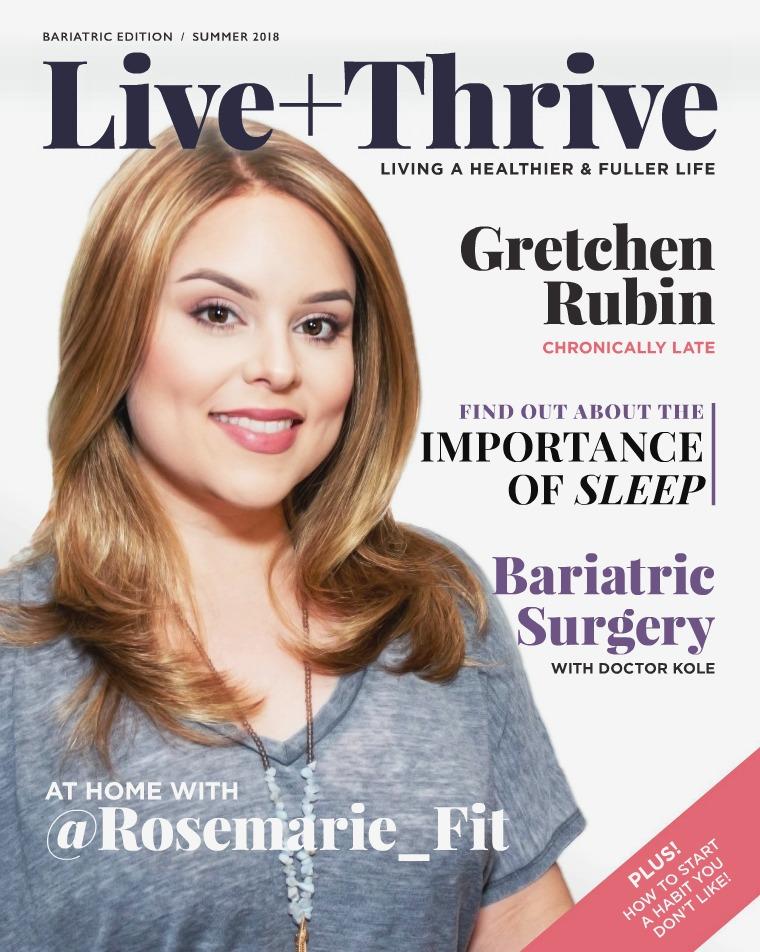 Health & Wellness Magazine Live + Thrive Magazine -  Summer 2018