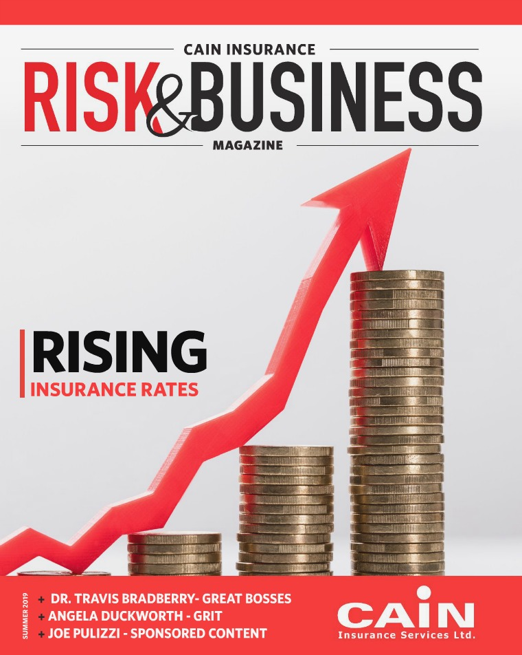 Risk & Business Magazine Cain Insurance Summer 2019 Magazine