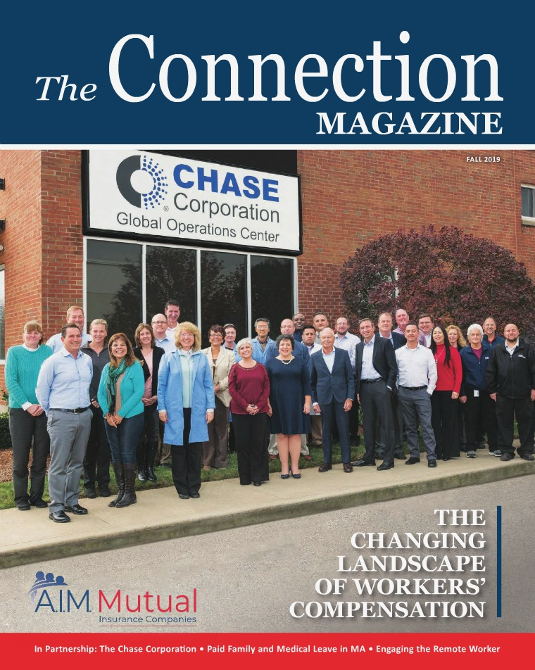 The Connection Magazine AIM MUTUAL Fall 2019