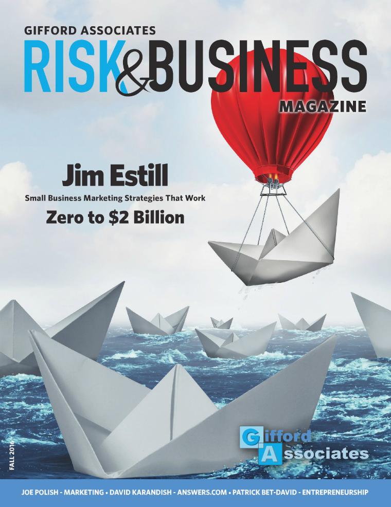 Risk & Business Magazine Gifford Associates Fall 2016