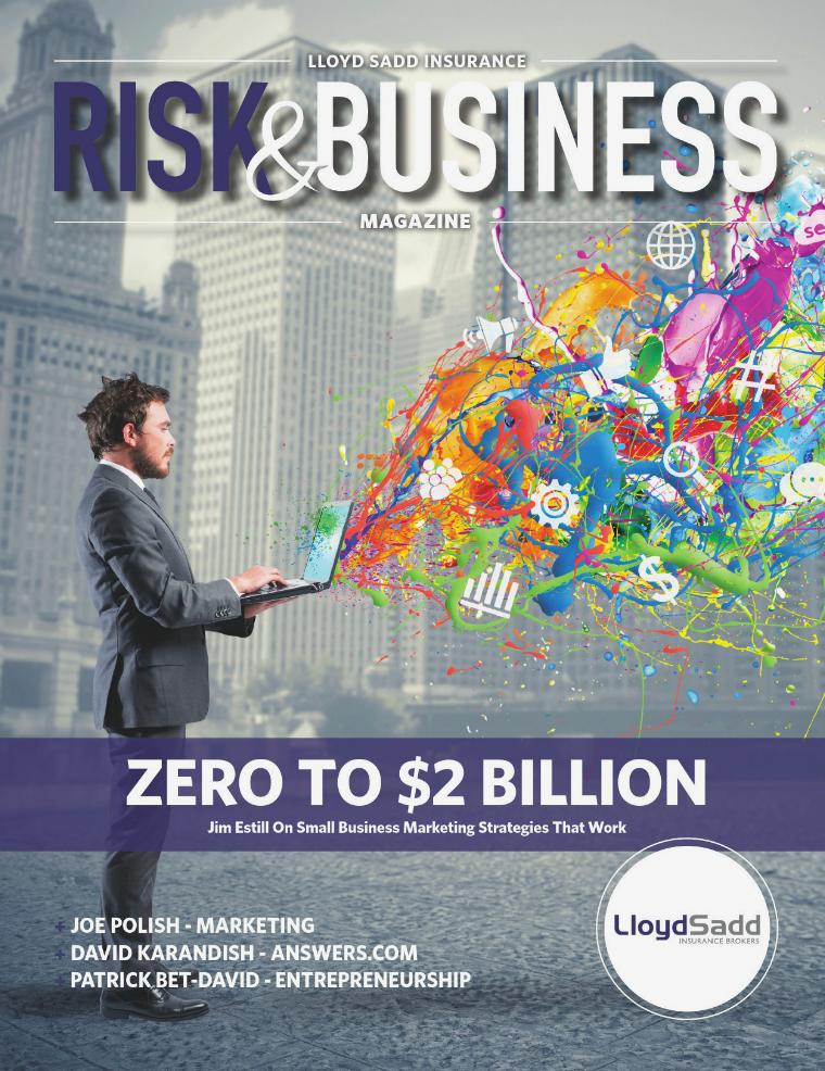 Risk & Business Magazine Lloyd Sadd Insurance Brokers Fall 2016