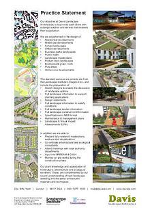 DAVIS Landscape Architecture Brochure 2015