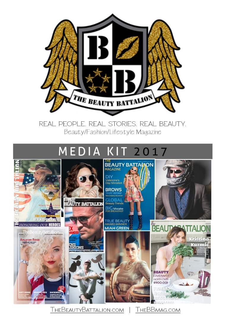 The Beauty Battalion - Featuring Beauty In All Shapes & Sizes Media Kit