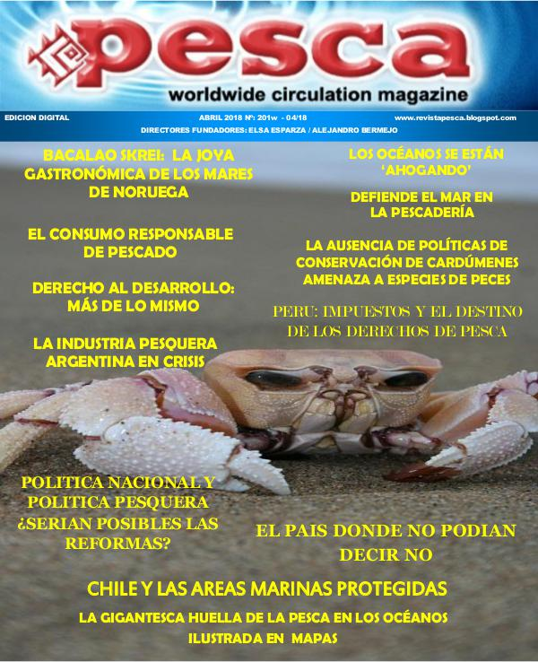 Revista Pesca abril 2018 REVISTA PESCA ABRIL 2018
