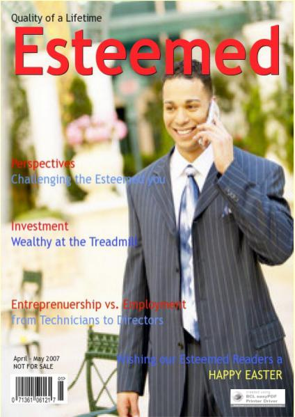 Esteemed Magazines April-May 2007