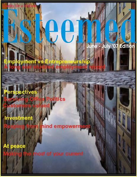 Esteemed Magazines June-July 2007