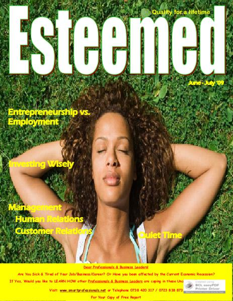 Esteemed Magazines June-July 2009