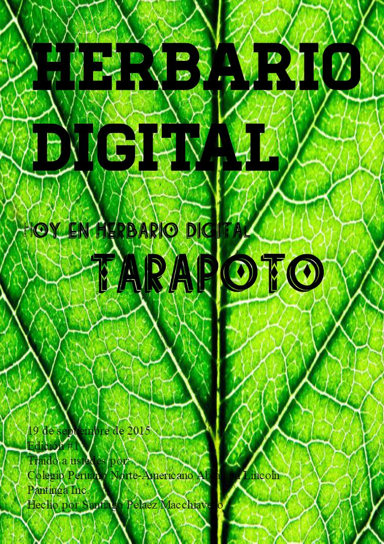 Herbario Digital Plantas de Tarapoto