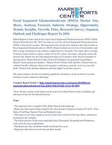 Focal Segmental Glomerulosclerosis (FSGS) Market Segmentation 2016