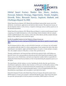 Smart Factory Market Opportunities, Technology & Segmentation To 2021