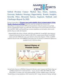Prostate Cancer Market Business Outlook and Procurement Survey 2023