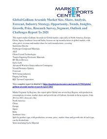 Gallium Arsenide Market Business Outlook and Procurement Survey 2021