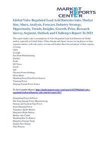 Valve Regulated Lead Acid Batteries Sales Market Growth To 2021