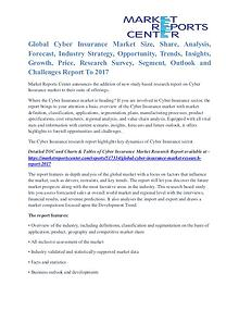 Cyber Insurance Market Growth Opportunities & Restraints To 2017
